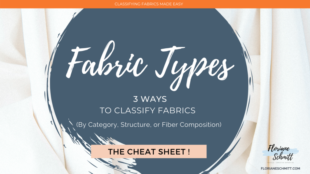 Fabric Types Cheat Sheet