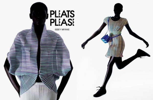Pleats in fashion fabric manipulation Issey Miyake Pleats Please