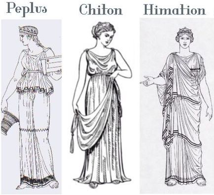 pleats fabric manipulation peplos chiton himaltion